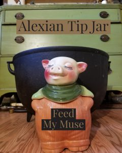 Alexian Tip Jar - Feed My Muse
